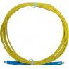China Guêpe optique de PVC de la grande vitesse SM/MM 9/125 de corde de correction de fibre de PC de connecteur de Sc wholesale