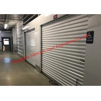 China Flexible Self- Storage Industrial Roll Up Doors Pre-assembled Commercial Rolling Grillers Doors wholesale