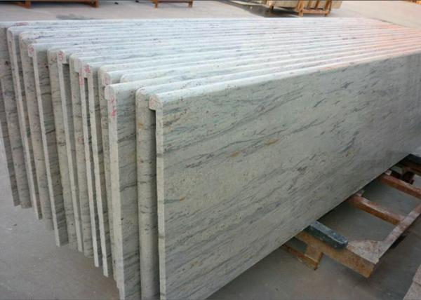 Quality River White Granite Kitchen Countertops Natural Solid Kitchen Counter Worktops for sale