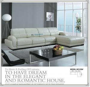 China C20;  modern genuine leather sofa, modern home furniture,office furniture, living room furniture, China sofa wholesale
