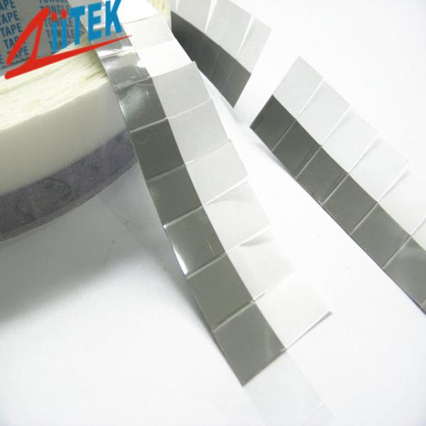 Quality Gray -25℃ - 125℃ Thermal Interface Material Phase Change for High Power LED Lights for sale