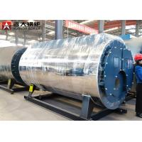 China Industrial Gas Steam Boiler Fire Tube Boiler Automatic Working 5 Ton Capacity wholesale