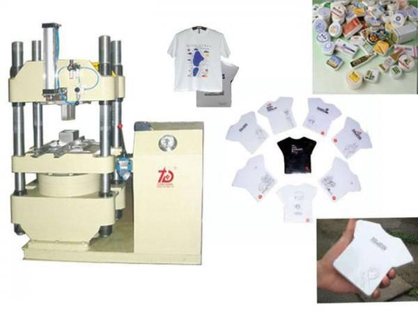 compressed t shirts machine