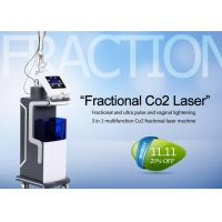 China 10600nm Co2 Fractional Laser Treatment Machine For Skin Resurfacing / Acne Scars wholesale