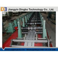 Buy cheap Shelf Standing Steel Rack Roll Forming Machine 60mm Roller Axis Spot Welding from wholesalers