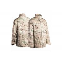 China M65 Military Field Jacket Water Repellent With Concealed Hood on sale