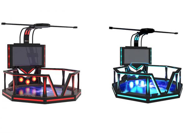Quality Amusement Park VR Walking Platform , Interactive Virtual Reality Gaming Platform for sale