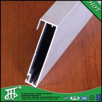 China anodizing silver aluminum profile for cabinet glass door frame aluminum profiles with best wholesale