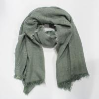 Buy cheap 100% soft acrylic knitting scarf with tassels from wholesalers
