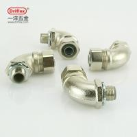 China Driflex Nickel Plated Brass 90d Anlge brass quick connect hose fittings M20 M25 wholesale