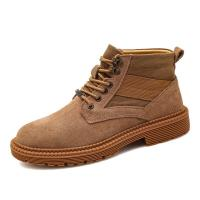 China Great Fashion Athletic Style Work Boots Black Brown Khaki Three Colors Optional on sale