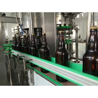 China Beer / Wine 500ml Stainless Steel Bottle Filling Machine Water Bottling Plant on sale