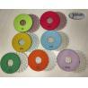 China 5 inch Ceramic Bond Dry Diamond Polishing Pads for Concrete high Effective wholesale