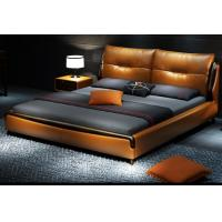 China Leather Modern Luxury Furniture High End Contemporary Bedroom Furniture wholesale