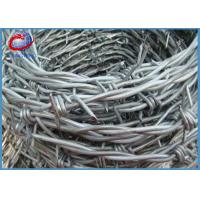 Buy cheap Hot Dipped Galvanized Iron Double Twist Barbed Wire For Protecting Mesh from wholesalers