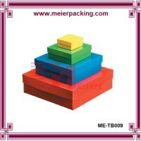 Recycle paper box cosmetic gift set packaging box ME-TB009