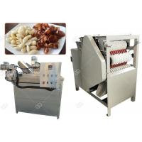 China Auto Almond Roasting Machine Peanut Blanching And Peeling Wet Type 150 Kg / H wholesale