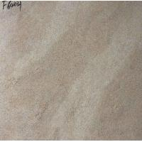 China Beige Brown Mixed Color Ceramic Tile Flooring 60 × 60CM Wear - Resistant on sale