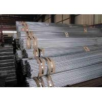 China Galvanized Welded Iron Steel Tube 30 Inch , Thin Wall Steel Tubing wholesale
