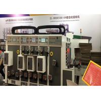 China Automatic Independent Flexo Printer Slotter Die Cutter / 2 Colors Flexo Printer Machine on sale