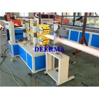 China PVC Plastic Pipe Extrusion Line / PVC Pipe Manufacturing Machine for 75-160mm PVC Water Pipe wholesale