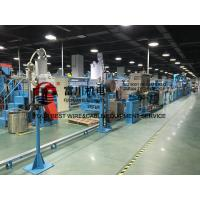 China Fuchuan PVC Extrusion Machine For Power Cable Wire Dia 6-25mm With Screw 90mm wholesale