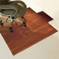 China Custom Rolling Wood Floor Chair Mat Floor Protection Mats , Eco-Friendly PVC Sheet wholesale