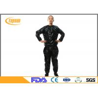 China Comfortable Disposable Sauna Suit Sauna Exercise Suit For SPA / Bathing wholesale