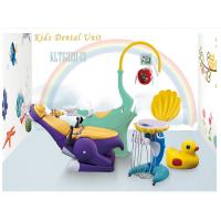 China Lovely Dentist Chairs With Rotatable And Removable Ceramic Spittoon wholesale