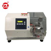 China White Rubber Testing Instruments , Rubber Glove Cutting Resistance Strength Testing Machine wholesale