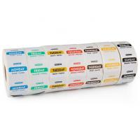 China Thermal Printing Restaurant Label Stickers Waterproof Customized Size Eco - Friendly wholesale