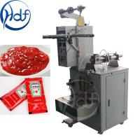 China Automatic Pouch Jelly Packing Machine , Tomato Ketchup Paste Packaging Machine wholesale