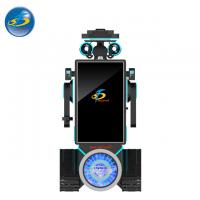 China Custom Made Auto VR Game Machine With Cool Robot Appearance 250 kg wholesale
