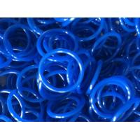 China Elastomeric Blue Round Rubber Rings 60 Shore With Low Temperature Resistance on sale