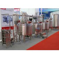 China Small Stainless Steel Home Brew Equipment 25% Head Space CE PED wholesale