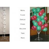 China Balloons Tree Metal Display Floor Stands with Wire Foldable Base / 8 PairsTubular Holder Balloon Metal Display Racks wholesale