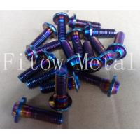 China Racing titanium screw bolt motorcycle bolts anodized bolts wholesale