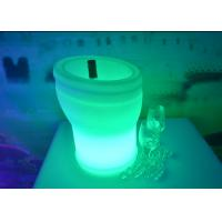 Buy cheap Remote Control Led Colour Changing Ice Bucket IP65 With Lithium Battery from wholesalers