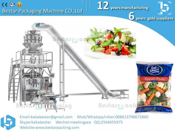 Quality Spring mix salad ,SuperValu Iceberg Lettuce Bag,Broccoli & Cauliflower,Taylor Farms Vegetable packing machine for sale