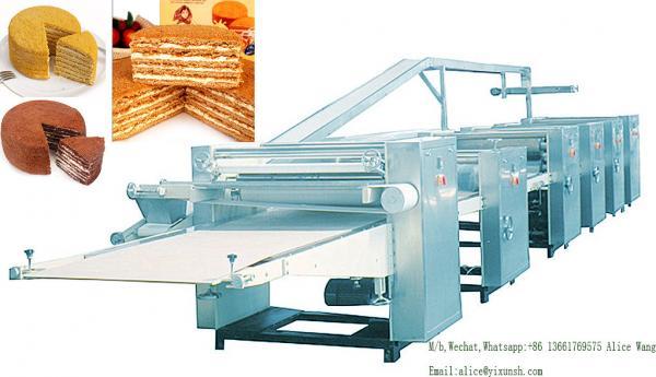Quality Tiramisu Cake production line Russia Tiramisu cake Manufacturing Equipment / Cake Processing Machine for sale