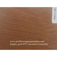 China hot and cold laminate roll wood grain for furniture wholesale