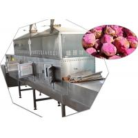 China 120 Kw Microwwave Drying Machine Industrial Continuous Temperature Controlling System wholesale