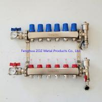 China 6 Branch Floor Heating Manifold for Underfloor Heating System Products wholesale