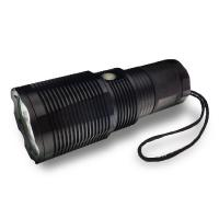 China High Lumen Rechargeable LED Flashlight IP67 Waterproof For Security wholesale