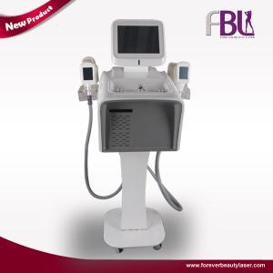 China 40KHZ Cavitation Six Polar RF Cryolipolysis Vacuum Roller Body Slimming Machine wholesale
