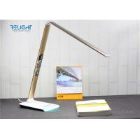 Buy cheap Eye Protected Foldable LED Desk Lamp with Brightness Touch Dimmer and Negative Show LCD Screen from wholesalers