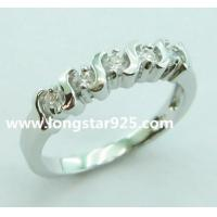 China 925 silver light weight rings, engagement rings wholesale