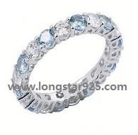 China 925 silver small round circle rings for wedding rings wholesale
