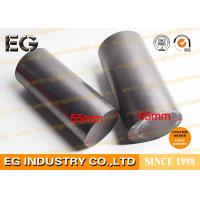 Density Of 1.8g / Cm3 Pure Graphite Rod Low Ash Purified 70 Mpa Compressive Strength