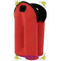 China Promotional low price insulated wine holder neoprene bottle sleeves with 4 packs wholesale